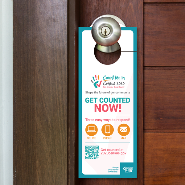 census door hanger